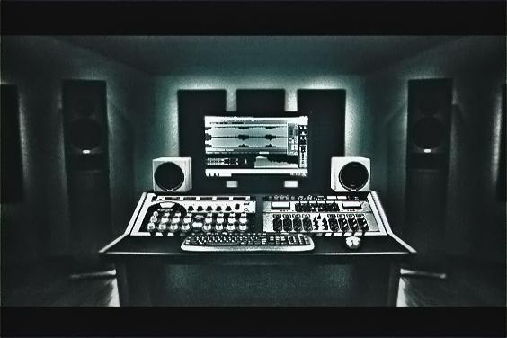 Mastering studio equipment, analog outboard, monitoring