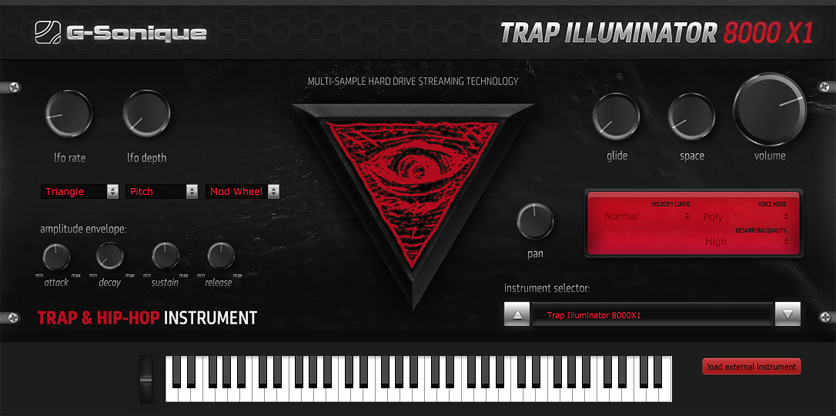 Trap Illuminator 8000 X1 - Trap & Hip-Hop instrument, VST